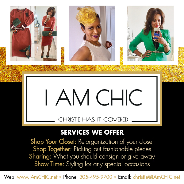 I AM CHIC Banner Ad
