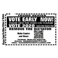 BPRW_Trump Beater Vote Early_Pop Up