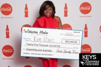 (BPRW) Kim Roxie wins the $25K Keys to Success Pitch Contest and Richelieu Dennis contributes another $25K!