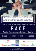 (BPRW) The People Institute and its partners to hold a virtual Town Hall on Racial Awareness & Cultural Equity