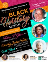 "(BPRW) Miami-Dade Chamber of Commerce Celebrating Black ""Herstory"" Month"